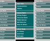 Blackboard menu options